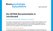 Whitepaper 'De COTAN documentatie is vernieuwd'